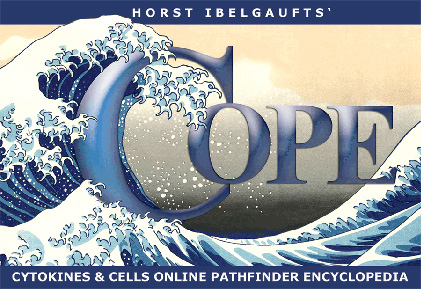 Horst Ibelgaufts' COPE   Version 31.4  (Spring 2013 Edition)